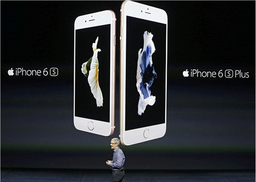 Apple iPhone 6S and 6S Plus - Tim Cook Showing