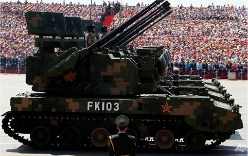 China Beijing commemorates 70th anniversary of Japan World War II defeat - Tanks
