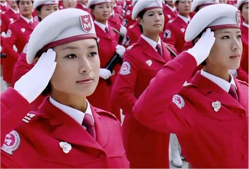 China Women Military Parade