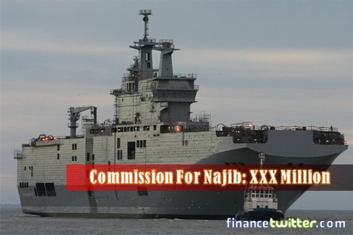 France Mistral Helicopter Carriers - Commission for Najib