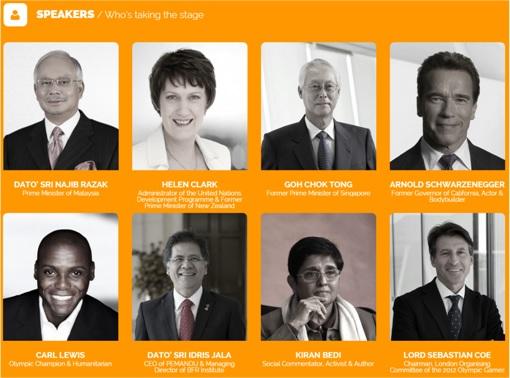Global Transformation Forum Speakers - 2015 Kuala Lumpur - Najib Razak