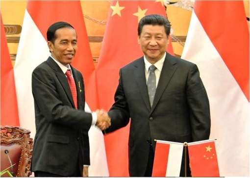 Indonesia High Speed Train Project - Xi Jinping and Joko Widodo