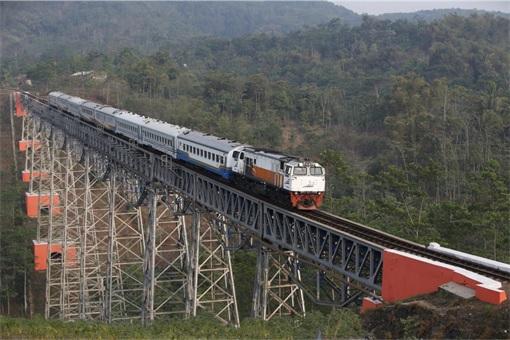 Indonesia Train Ride from Jakarta to Bandung