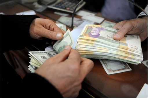 Iran Rials MOney Exchange for US Dollar