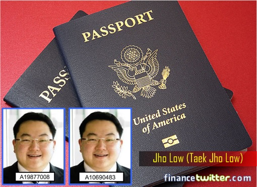 Jho Low Two American Passports