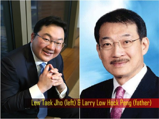 Jho Low and Father Larry Low - 1MDB Scandal
