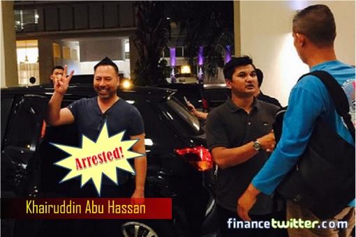 Khairuddin Abu Hassan - Arrested at Mont Kiara Home