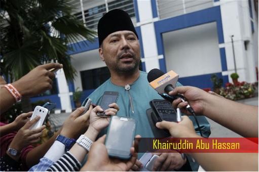 Khairuddin Abu Hassan - Lodging Police Report on 1MDB
