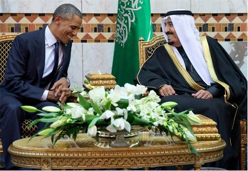 King Salman Meet President Obama