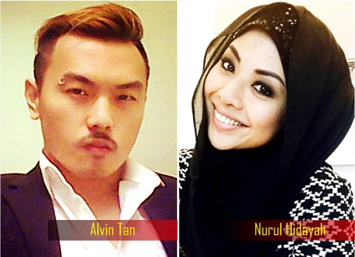 Nurul Hidayah and Alvin Tan