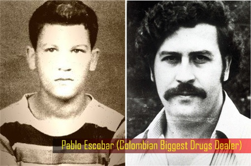 Pablo Escobar (as a child on left) - Colombian Drug Dealer