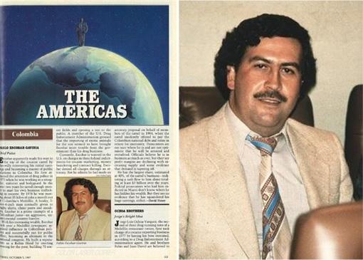 Pablo Escobar - Forbes Billionaire List