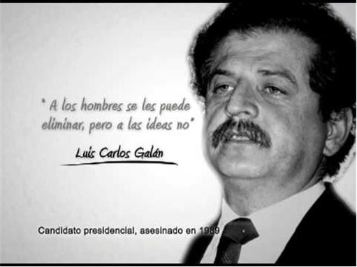 Pablo Escobar - kills Colombian Presidential Candidate Luis Carlos Galán