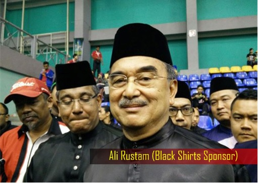 Red and Black Shirts Rally - Sponsor Ali Rustam