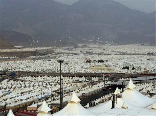 Saudi Arabia Empty AirConditioned Tents  City View