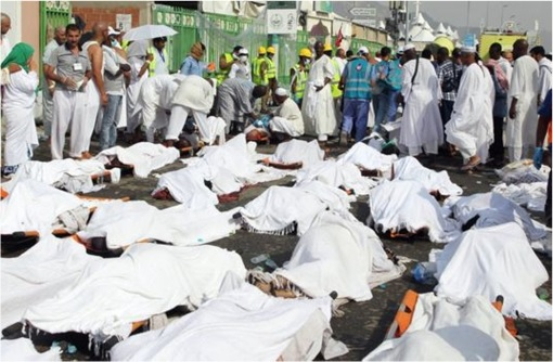 Saudi Stampede Deaths on the Road