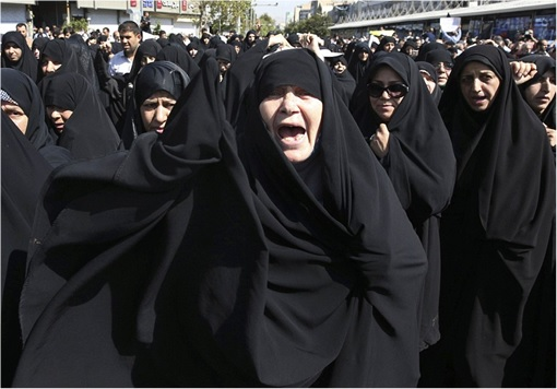 Saudi Stampede - Iranians Women Protest