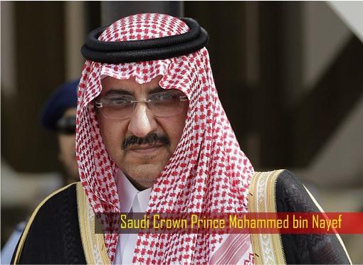 Saudi Stampede - Saudi Crown Prince Mohammed bin Nayef