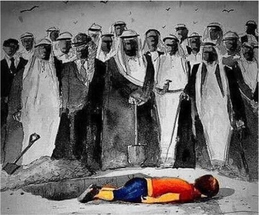 Syrian Refugees Crisis - Wealthiest Gulf Nations Watching Child Dies Without Doing Nothing