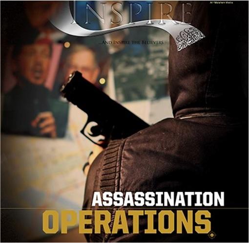Terror Group Al-Qaeda Inspire Magazine - Assasination Operations Cover