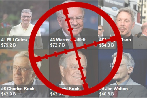 Terror Group Al-Qaeda Target - American Richest Person