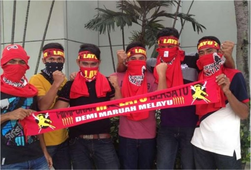 UMNO Red Shirts Rally Charming Message - Demi Maruah Melayu