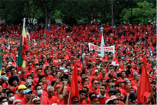 UMNO Red Shirts Rally - Crowd