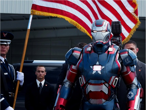 US Economy As Strong As Iron Man