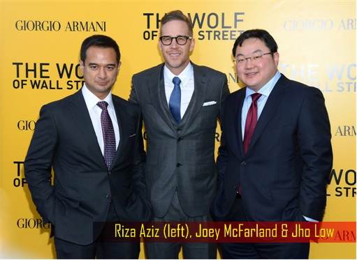 Wolf of Wall Street - Riza Aziz, Joey McFarland, Jho Low