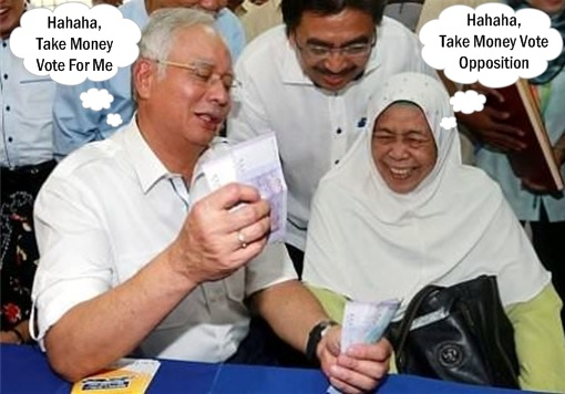 Budget 2016 - Najib Gives BR1M BRIM Money To Buy Votes