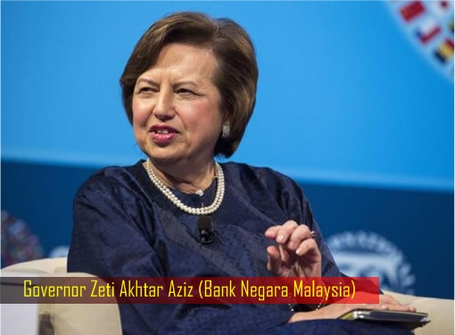 Governor Zeti Akhtar Aziz - Bank Negara Malaysia
