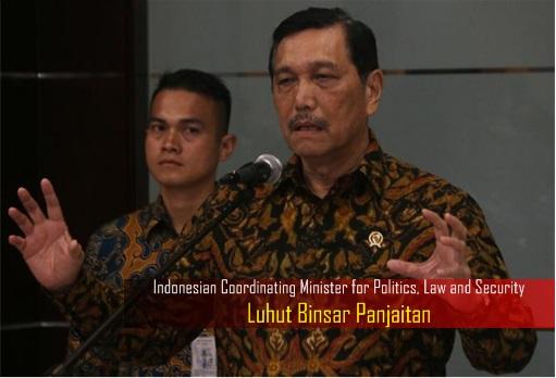Haze Crisis - Indonesian Coordinating Minister for Politics, Law and Security - Luhut Binsar Panjaitan