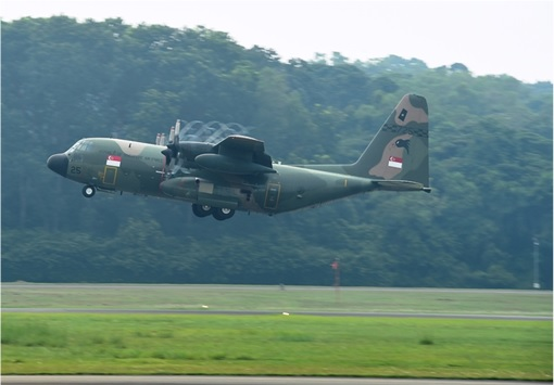 Haze Crisis - Singapore Air Force's C-130 aircraft