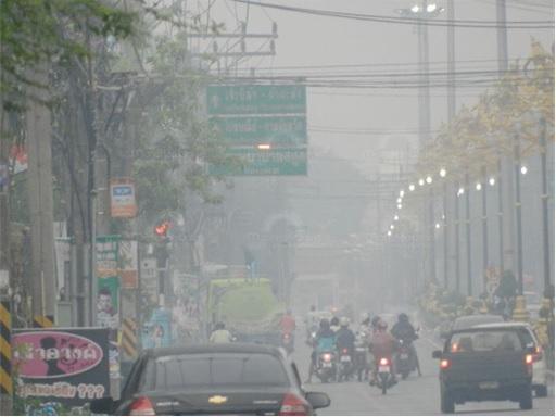 Haze Crisis - Thailand southern provinces