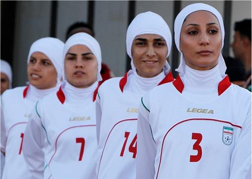 Iran Women Football Team - Men Sex Change