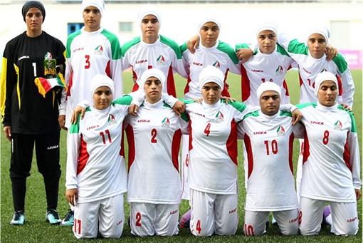 Iran Women Football Team - Players Photo
