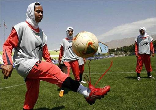 Iran Women Football Team - Training