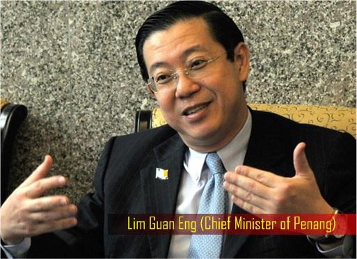Lim Guan Eng - Penang Chief Minister