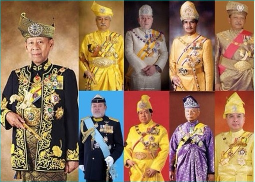 Malaysia Sultans - Malay Rulers