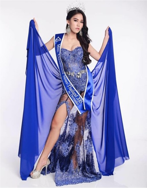 Miss Uncensored News Thailand 2015 - Khanittha Mint Phasaeng - Wearing Gown
