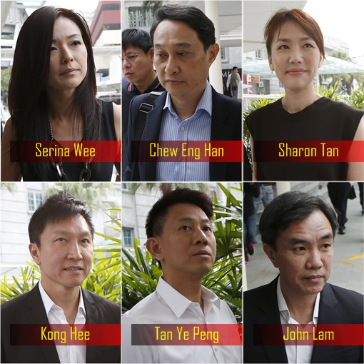 Singapore City Harvest Church - Theft by Six Leaders