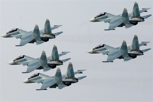 Syria Airstrikes - Russia Sukhoi Su-30