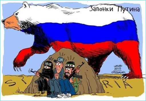 Syrian-Terrorist War - Russian Military Intimidate ISIS and CIA