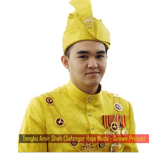 Tengku Amir Shah (Selangor Raja Muda - Crown Prince)