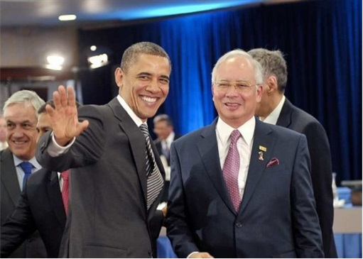 Trans-Pacific Partnership Agreement TPPA - Obama and Najib