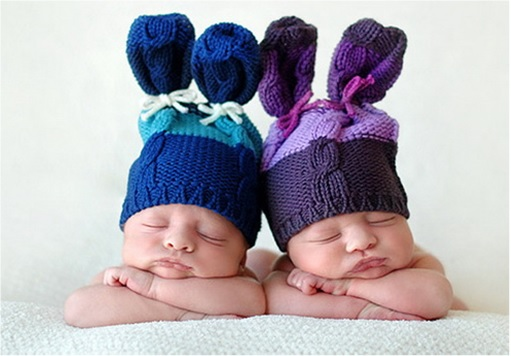 Trouble Conceiving - Twin Babies Sleeping