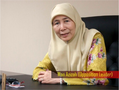 Wan Azizah - Opposition Leader