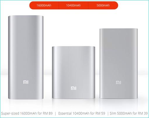 Xiaomi Malaysia Price Hike - Power Bank - Oct-20-2015