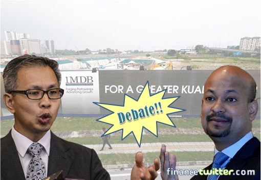 1MDB Debate - Tony Pua and Arul Kanda