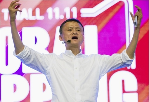 Alibaba Singles Day Sale 2015 Dashboard - Jack Ma Reaction